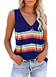 ❤Cute Tank Tops for Women.Quality is good and the graphics aren't cheap I've washed this twice not and the graphics are still good.Made of good material, and color as pictured.The top looked just as described when I took it out of the bag. it is made...