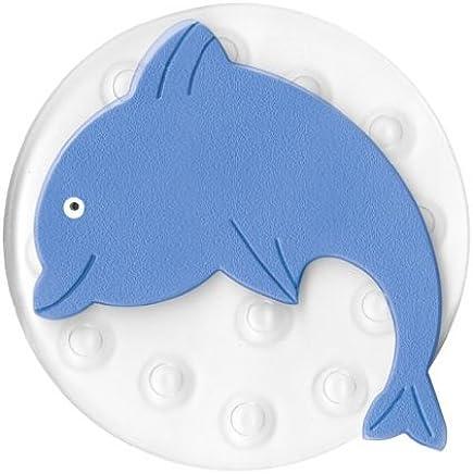 40x30x10 cm Plastique Kleine Wolke 4379791969 Ventouse D/éco Minis Flip Set de 4 en Bleu