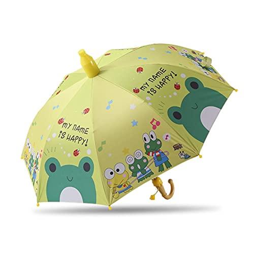 Paraguas Niños Encantadora Lluvia Sombrillas C Oon Paraguas Niños Rainbow Paraguas Semi Automático, A