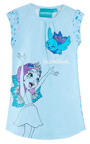 Lora Dora - Pijama con Purpurina para niñas Azul Azul 3 años