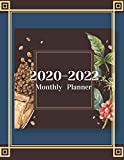 Monthly Planner for 2020/2022- Coffee Lovers 3-Year Planner Schedule Organizer- January 2020/December 2022 8.5'x11' 130 pages Book 2: Large Cover ... Planning Scheduling Organizing Goal Setting