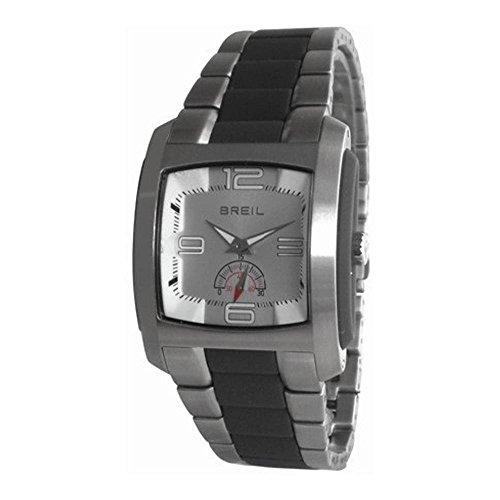 Breil Reloj Analógico para Hombre de Cuarzo con Correa en Acero Inoxidable BW0225