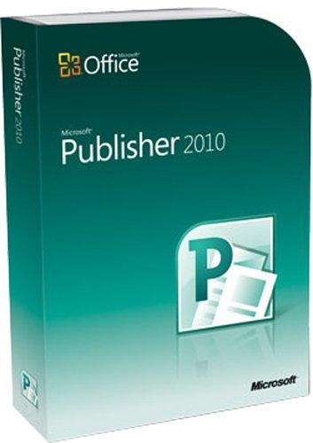 Microsoft Publisher 2010 - 1PC/1User
