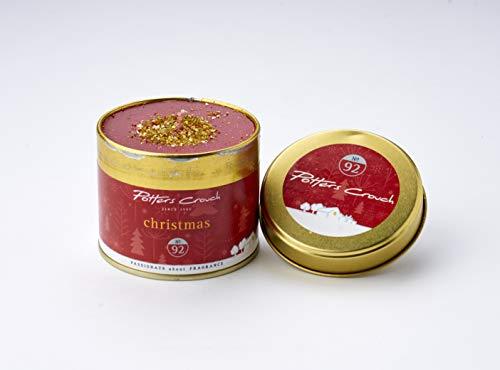 Potter Entre Jambes de Noël Bougie parfumée dans Une boîte métallique