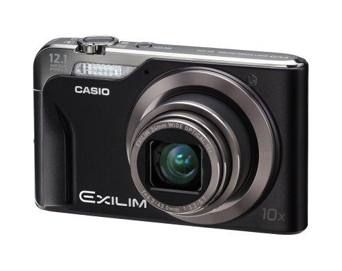 Casio Exilim EX-H10 Digitalkamera (12 Megapixel, 10-fach opt. Zoom, 7,6 cm (3 Zoll) Display, bildstabilisiert) schwarz