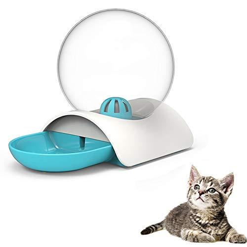 WKZWY-Jardín Funda Muebles Dispensador de Agua para Gatos de 2.8L, para Mascotas Perros Dispensador de Agua Tazón Grande para Beber Sin Electricidad (Color : Blue)