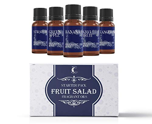 Mystic Moments Starter Pack - Huiles Parfumées - Salade de Fruits - 5 x 10ml