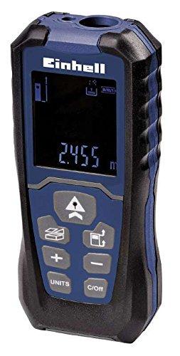 BT-LEM 40 Laser-Distanzmesser Distanzmesser Distanzmessgerät Entfernungsmessgerät Laser-Entfernungsmesser Blue incl. Bewahrungstasche und Batterien