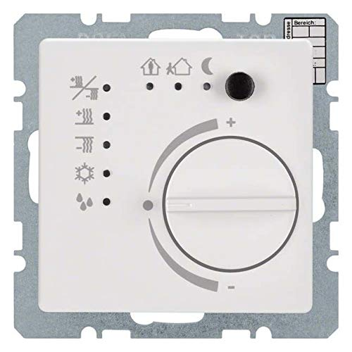 Hager Q.1–Thermostat mit BCU für KNX