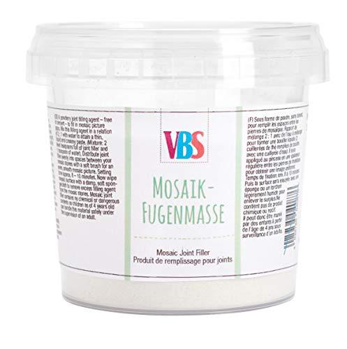 VBS Mosaik-Fugenmasse, frostfest, 350g Weiß