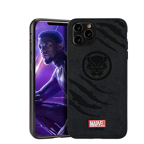 Case for iPhone 12 Pro Max with Avengers Character - Black Panther, Black
