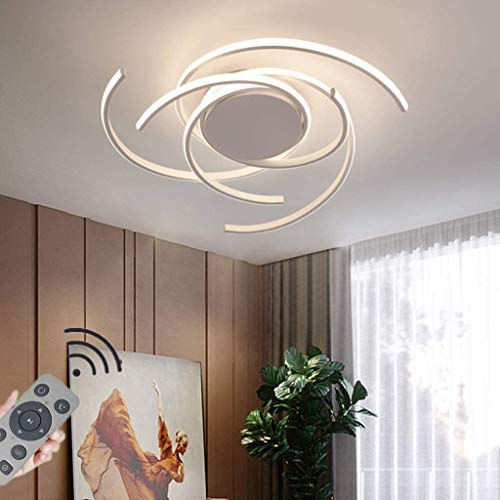 JIAODIE LED Ceiling Light Dimmable Living Room Kitchen Flush Hanging...