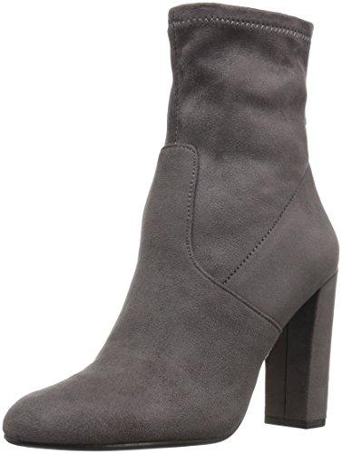 Steve Madden Women's Brisk Ankle Bootie, Grey, 7.5 M US