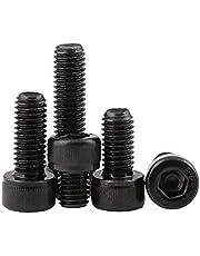 BOZONLI Koolstofstaal Binnenzeskantbouten en schroeven Zeskantschroef, Cup Head Bouts, M3*32mm,20 stuks