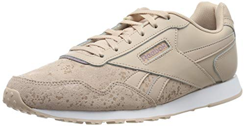 Reebok Damen Royal Glide Lx Fitnessschuhe, Mehrfarbig (Bare Beige/White/Infused Lilac/Ss 000), 38.5 EU