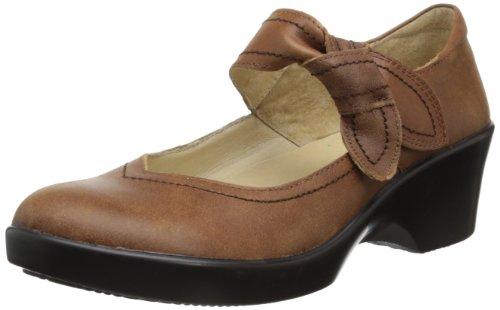 Alegria Ella Mary Jane - Zapatos de tacón para mujer, Marrón (Saddle), 38/38.5 EU