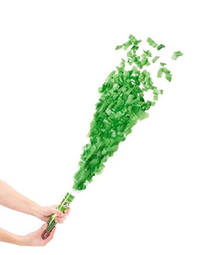 Generique - Konfettikanone grün 20cm