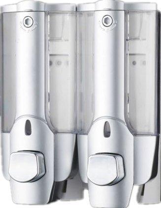 Ardisle 2 Pomp Action Muur Gemonteerde Zeep Shampoo Dispenser Douche Badkamer Lotion Gel