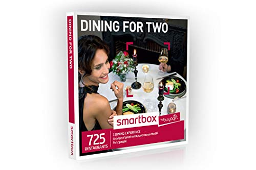 Buyagift Dining for Two Gift Experiences Box - 725 gourmet gift experiences from afternoon tea to delicious dining options