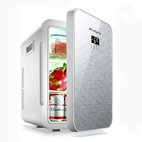 Stijlvolle eenvoudige mini-koelkast, 22 liter, dual core mute-Cnc-display, koelbox (thuiskantoor en auto gebruiken), CZ