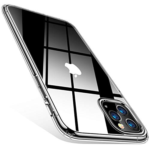 TORRAS Compatible for iPhone 11 Pro Max Case, Ultra-Thin Slim Fit Soft Silicone TPU Cover Case Compatible for iPhone 11 Pro Max Case 6.5 inch (2019), Clear