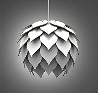 Lampadario Lampada sospensione Paralume moderno in legno - Design Petali