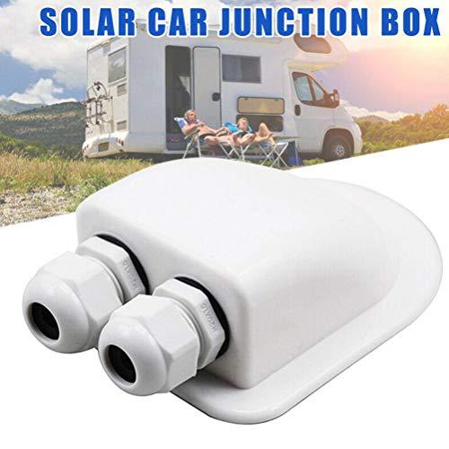 Borstu Dachdurchführung Außendach Kabeleinführung Stopfbuchse Box Solarpanel Kabel Wohnmobil Caravan Boat Junction Box
