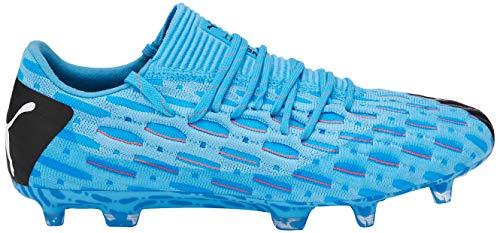 Puma Herren Future 5.1 Netfit Low Fg/ag Fußballschuhe, Gelb (Luminous Blue-NRGY Blue Black-Pink Alert 01), 45 EU - 3