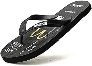 Flip Flops - Trendy Summer Beach Flip-flops For Men Casual Travel Slippers Men Flat Graffiti Print Non Slip Men Beach Slip...