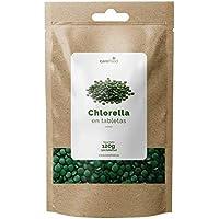 Chlorella Ecológica 300 tabletas para 100 días Carefood | 100% Ecológica de pared celular rota | Vegano y libre de pesticidas y químicos | Superalimento 100% Chlorella Pyrenoidosa