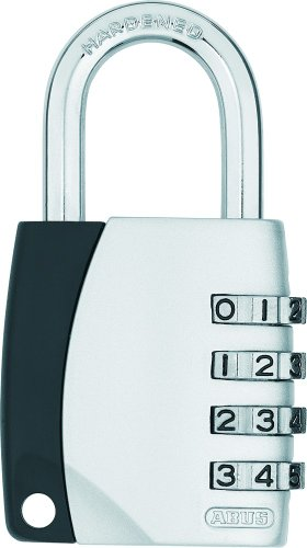 ABUS Zahlenschloss Vorhangschloss 155/40, mit 4-stelligem Code, 29052
