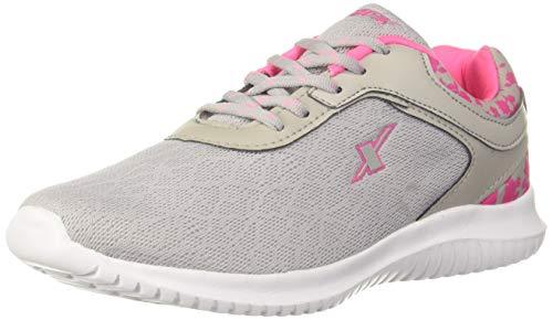 Sparx Women's Grey Pink Running Shoes-6 UK (39 1/3 EU) (SX0124L_GYPK0006)