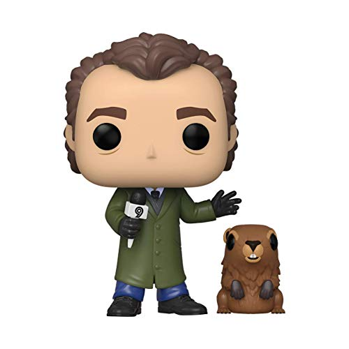 Funko-  Pop y Buddy Groundhog Day Phil con PunxsutawneyPhil Juguete Coleccionable,  Multicolor (47240)