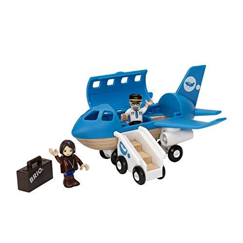 Brio - Avion de voyageurs - Bois,Plastique - 33306