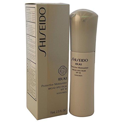 Shiseido SPF 18 Ibuki Protective Moisturizer for Unisex, 2.5 Ounce