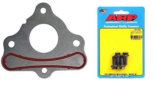Michigan Motorsports Camshaft Thrust Retainer Plate LS Includes Flat Head Bolt Kit ARP 134-1002 Gen III IV 4.8 5.3L 6.0L 6.2L LSX LS1 LQ4 LQ9 LS2 LS3