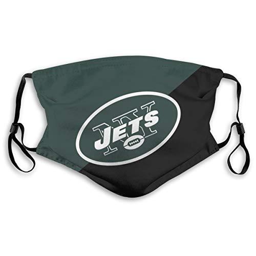 New_York Jets Unisex MA_SK Reusable Adjustable Outdoor Dustproof Protection Bandanas