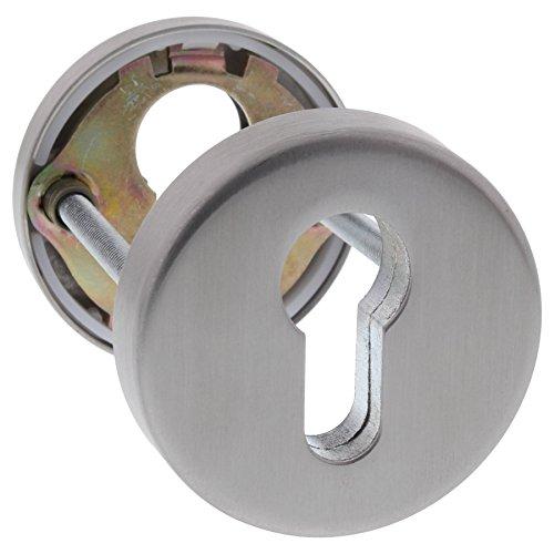 ToniTec® Schutzrosettenpaar Sicherheitsrosetten aus Edelstahl