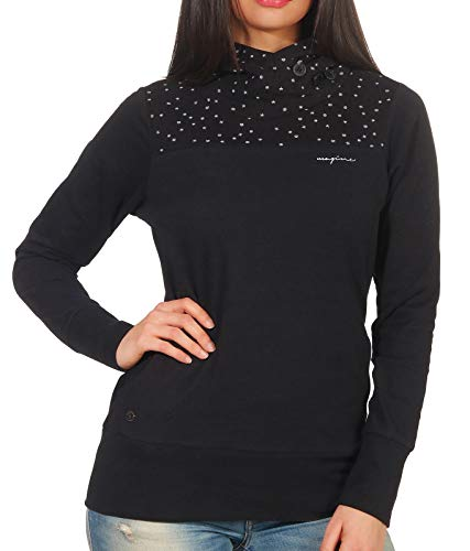 mazine Damen Sweatshirt Stockholm Hoody schwarzM