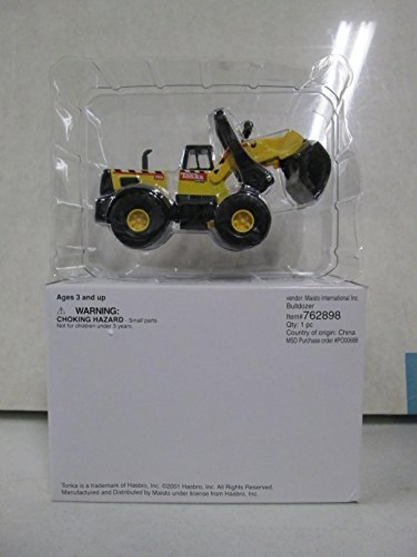 Maisto Tonka Die Cast Bulldozer Yellow by Tonka