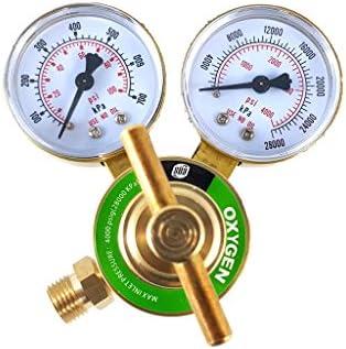 SÜA - Acetylene Regulator Welding Gas Gauges - CGA-200 - Rear Connector - LDB series