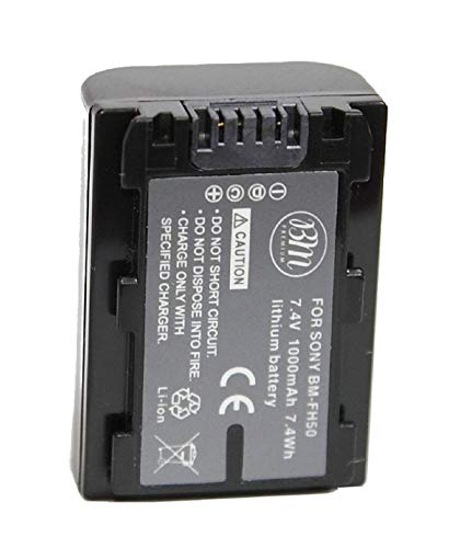 Kastar Battery NPFH50 Replacement for Sony NP-FH30 NP-FH40 NP-FH50 NP-FH70 NP-FH100 and Sony Cyber-shot DSC-HX1 HX100V DSC-HX200 HX200V, Sony Alpha DSLR-A230 DSLR-A290 DSLR-A330 DSLR-A380 DSLR-A390