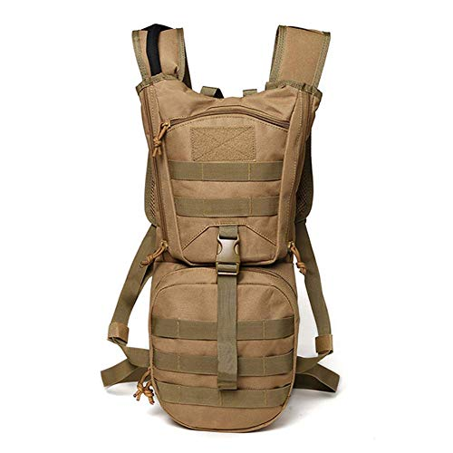 Gymqian Backpack for Outdoor Hiking Camping Travel 3L Molle Military Tactical Moisturizing Bag Hiking/C 1