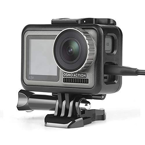 D&F Rahmen Protector Frame für DJI OSMO Action Kamera,Schützend Gehäuse Cage Mount Leichtes Fotografie Zubehör