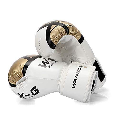 BOZHUO Boxhandschuhe Für Männer Und Frauen, Tasche Für Boxtrainingshandschuhe MMA-Sparring-Training Für Männer Und Frauen,12oz