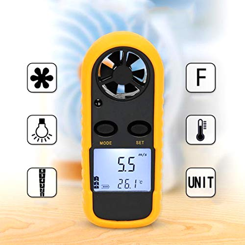 GM816 Digital Anemometer Druck Anemometer LCD Handheld Anemometer Anemometer Meter Instrument Segeln Surf Angeln