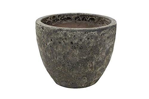 Otho bloempot | 47 cm hoog | zwart