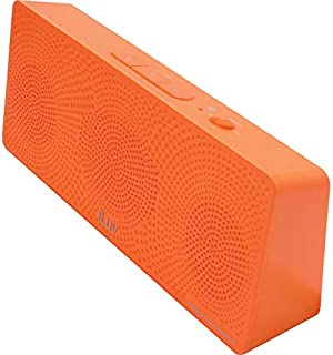 iLuv MobiTour Portable Bluetooth Wireless Stereo Speaker, Orange, ISP202ORGN