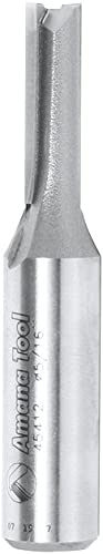 """high quality Amana 2021 Tool - 45412 Carbide Tipped Straight Plunge High Production 5/16 wholesale Dia x 1"""" 2 online sale"""
