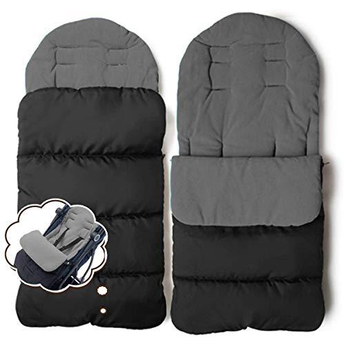 CZ-XING Kinderwagen-Fußsack für Kleinkinder, universell passend für Kinderwagen, Buggys, Babywagen